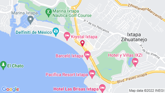 Holiday Inn Resort Ixtapa All Inclusive Map