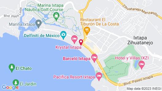 Sunscape Dorado Pacifico Ixtapa Resort & Spa - All Inclusive Map