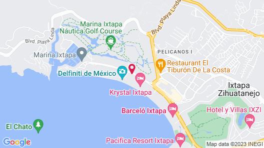 Park Royal Beach Ixtapa Map