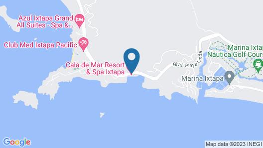 Cala de Mar Resort & Spa Ixtapa Map