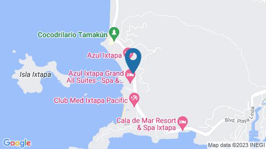 Azul Ixtapa Beach Resort and Convention Center - All Inclusive Map