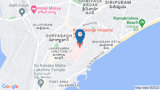 Hotel Winsar Park Map