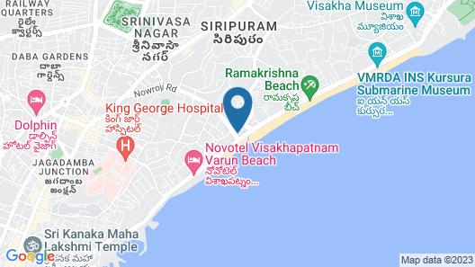 The Gateway Hotel Beach Road Map