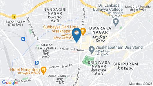 Fortune Inn Sree Kanya, Visakhapatnam - Member ITC Hotel Group Map