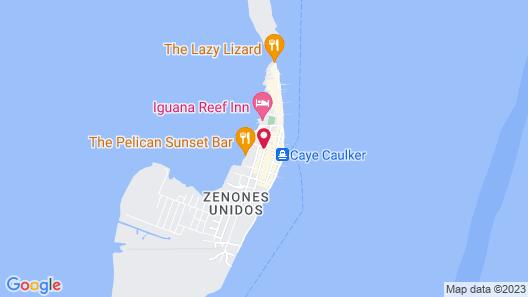 Caye Caulker Plaza Hotel Map