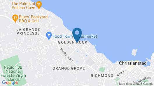 Club St. Croix Beach & Tennis Resort by Antilles Resorts Map