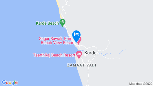 VITS Excellensea Karde Beach Map