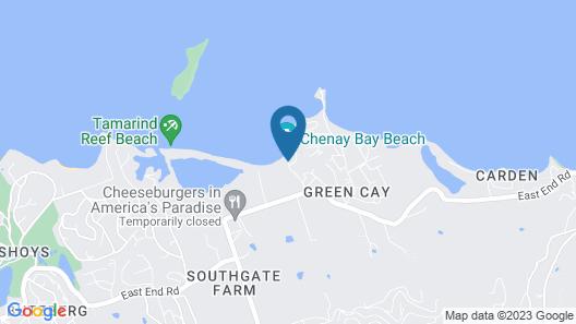 Chenay Bay Beach Resort Map