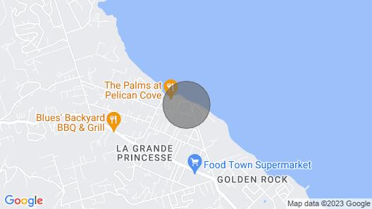 Bella Cabana at Pelican Cove- An Oceanfront Paradise Map