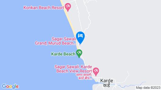 Sagar Sawali Grand Map