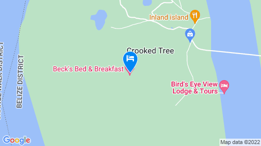 Becks Bed and Breakfast Map