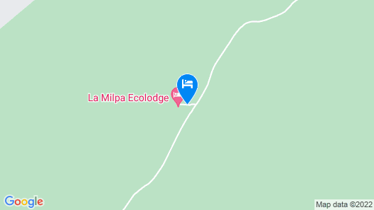 La Milpa Lodge Map