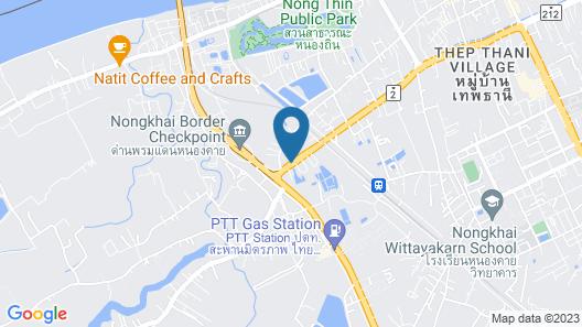 Tanzeno Hotel Map