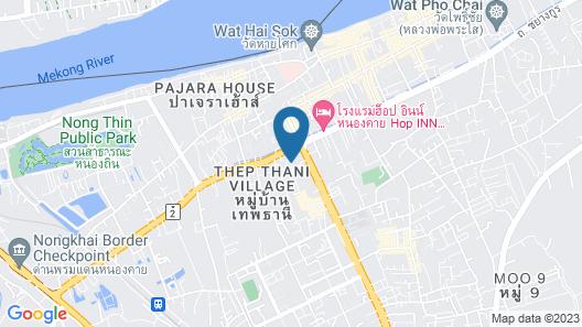 Crystal Nongkhai Hotel Map