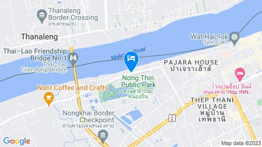 Samoar Riverside Hotel Map