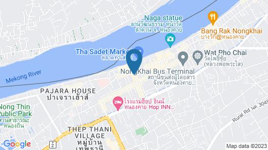 Klang Muang at Nongkhai Hotel Map