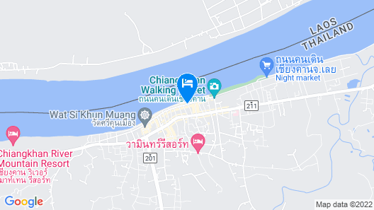 The Royal Chiangkhan Boutique Hotel Map