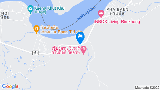 Chiangkhan River Green Hill Map