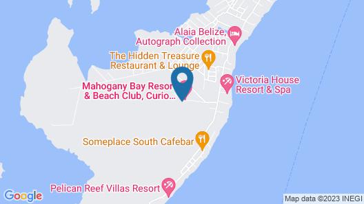 Mahogany Bay Resort & Beach Club, Curio Collection by Hilton Map