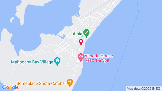 Mata Rocks Resort Map