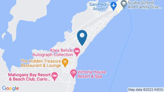 Xanadu Island Resort Map
