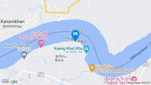 Nam Khong Tara Resort Map