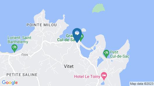 Hotel Villa Lodge 4 épices Map