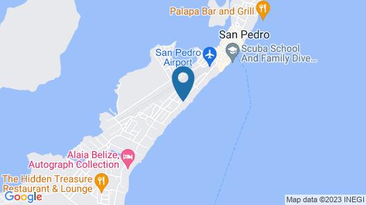 Isla Bonita Yacht Club Map