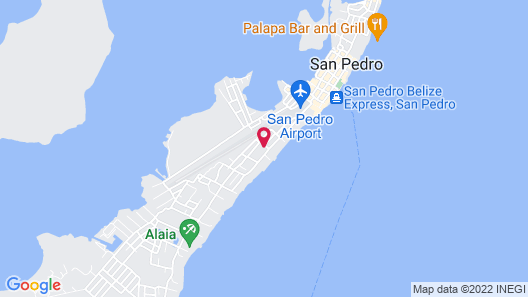 Pedro's Hotel Map