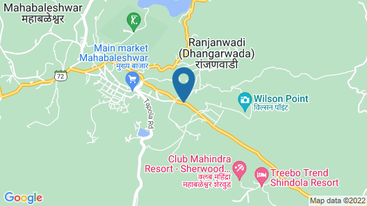 Le Méridien Mahabaleshwar Resort & Spa Map