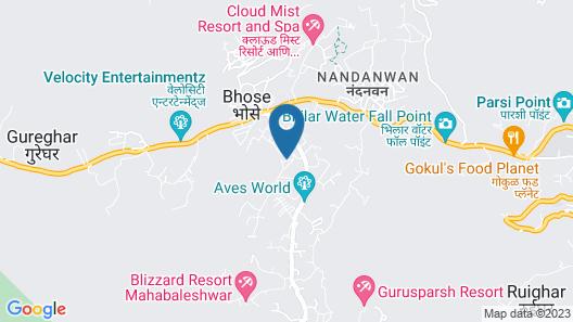 Hotel Silver Inn Map
