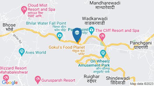 Treebo Tryst Nivanta Map