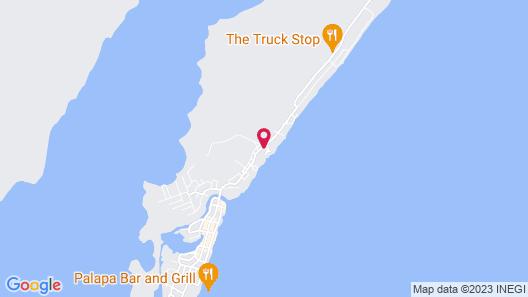 Tres Cocos Resort Map