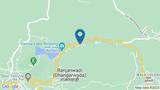Lake Paradise Mahabaleshwar Map