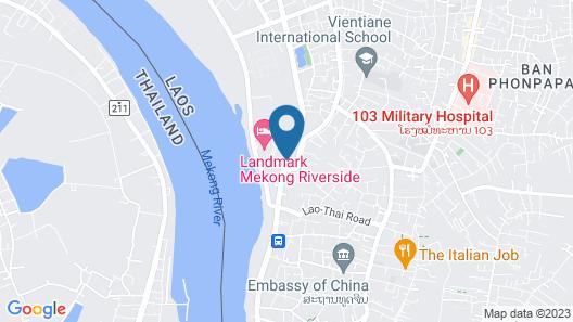 Rashmi's The Plaza Vientiane Map