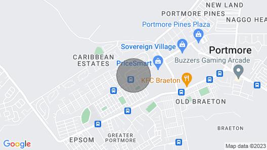 Caribe Estate Guest Apartment I Map