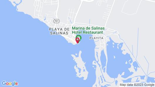 Marina de Salinas Map