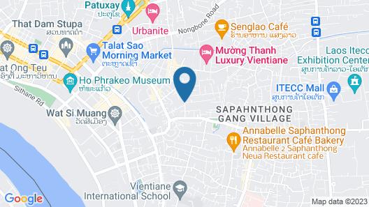 Lao Golden Hotel Map