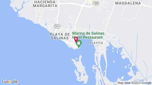 Playa Apartments Map