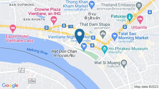 Le Charme Vientiane Hotel Map