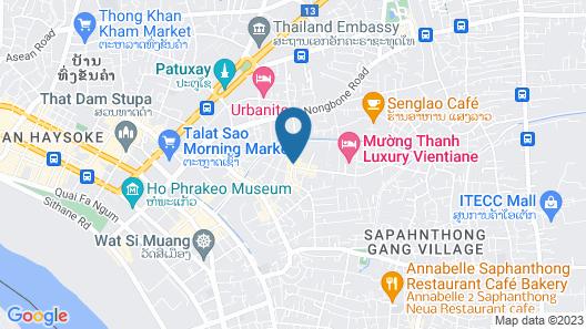 Vieng Vang hotel Map