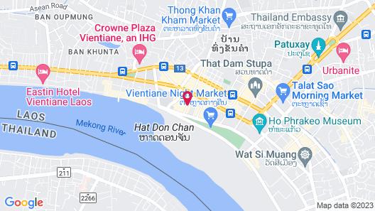 SureStay Hotel by Best Western Vientiane Map