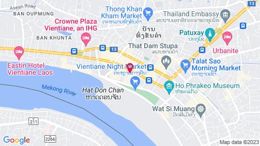 Best Western Vientiane Hotel Map