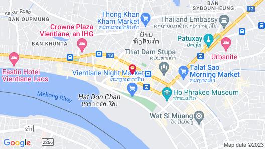 Lao Poet Hotel Map