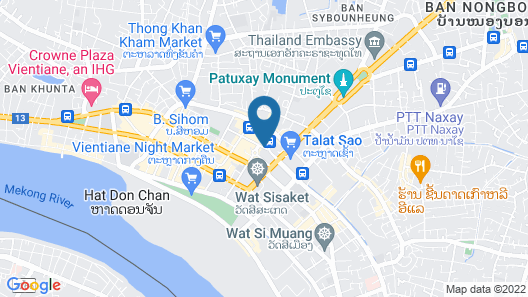 Xaysomboun Boutique Hotel Map