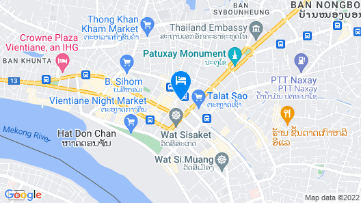 Xaysomboun Boutique Hotel Map