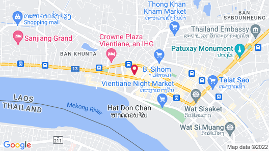 Orange Backpacker Hostel Map