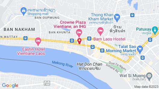 Somerset Vientiane Map