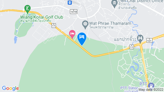 Denchai City Resort Map
