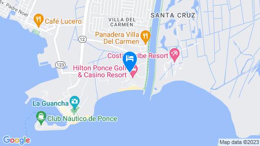 Hilton Ponce Golf & Casino Resort Map